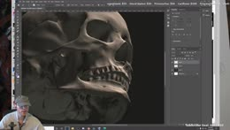 skull construction and portrait day