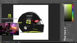Making a Helmet Design with chat and the team