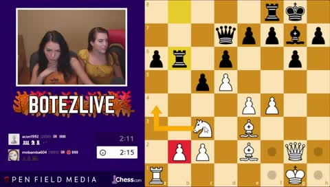 BotezLive - Thanksgiving Chess & Family Who Wants To Be A Millionaire later !chess !youtube