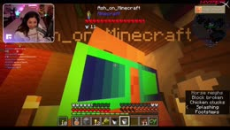 BACK!! getting wings again in minecraft >:)