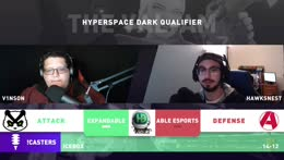 The VAL-AM Hyperspace Dark Qualifier | Match: Expandable vs Able Esports | !Giveaway