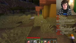 chat teaches me how to play minecraft