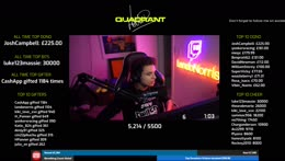 type !donate - Charity stream for Billy Monger/Comic Relief #teamquadrant   type !donate