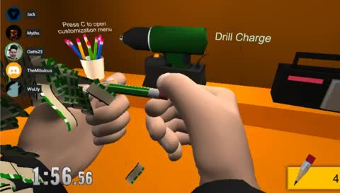 Pencil Sharpening Simulator   any% 1000 pencils 7:51:57