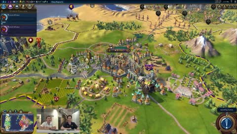 Civilization VI AI Battle Royale