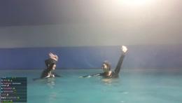 pool stunt